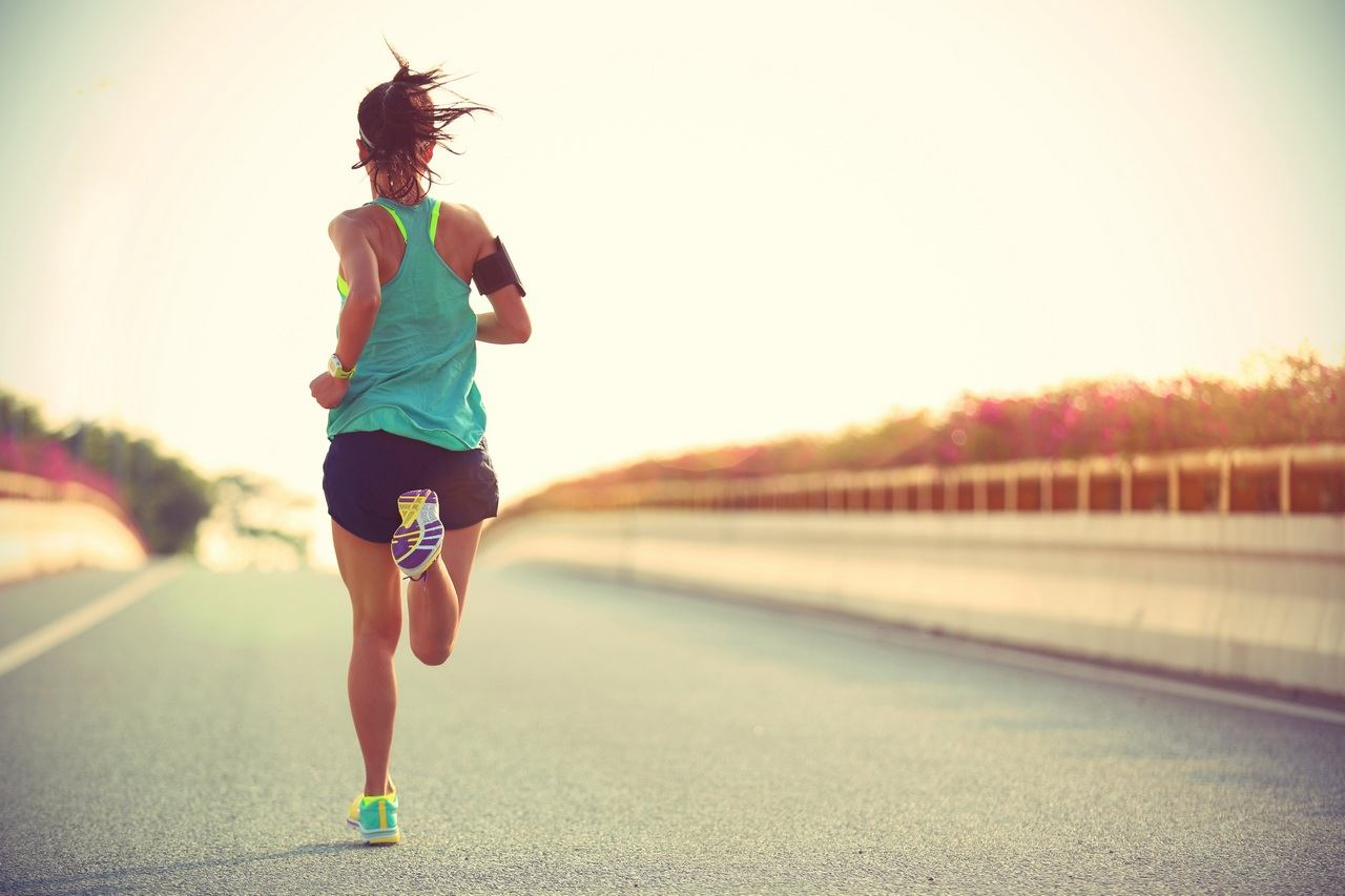 Running in the morning for quick weight loss